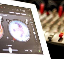 DJ Saarland - Mischpult Ipad